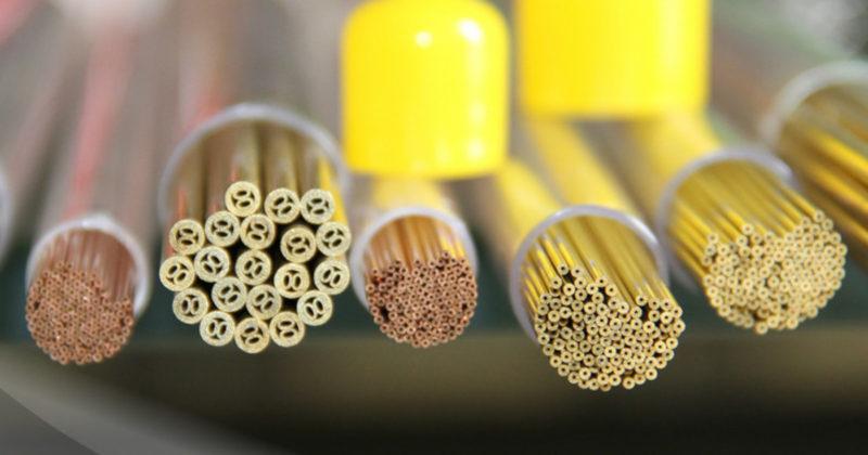 tubetti rame ottone elettrodi filo per elettroerosione EDM