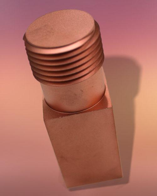 006-Elettrodo-Rame.Per Filettatura filo per elettroerosione EDM