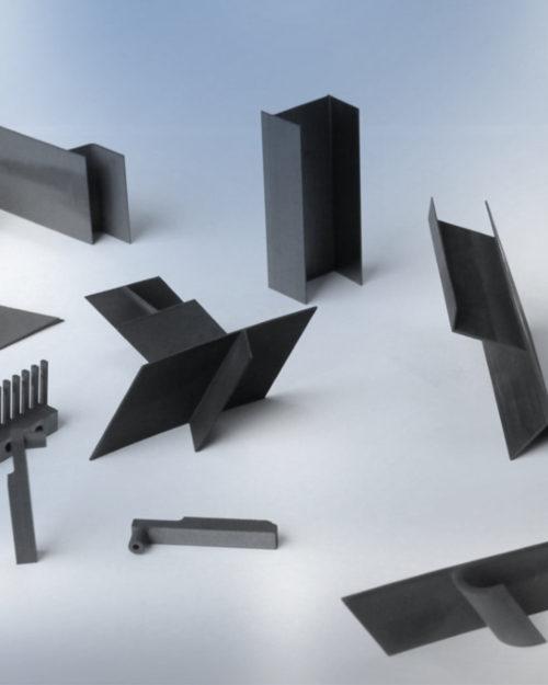 01 elettrodi aerospace EDM elettrodi in grafite