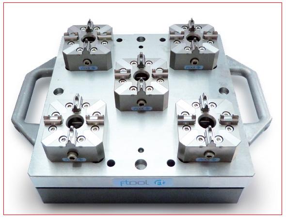 3 opzioni universali utilizzo sistema centraggio EDM fissaggi per EDM