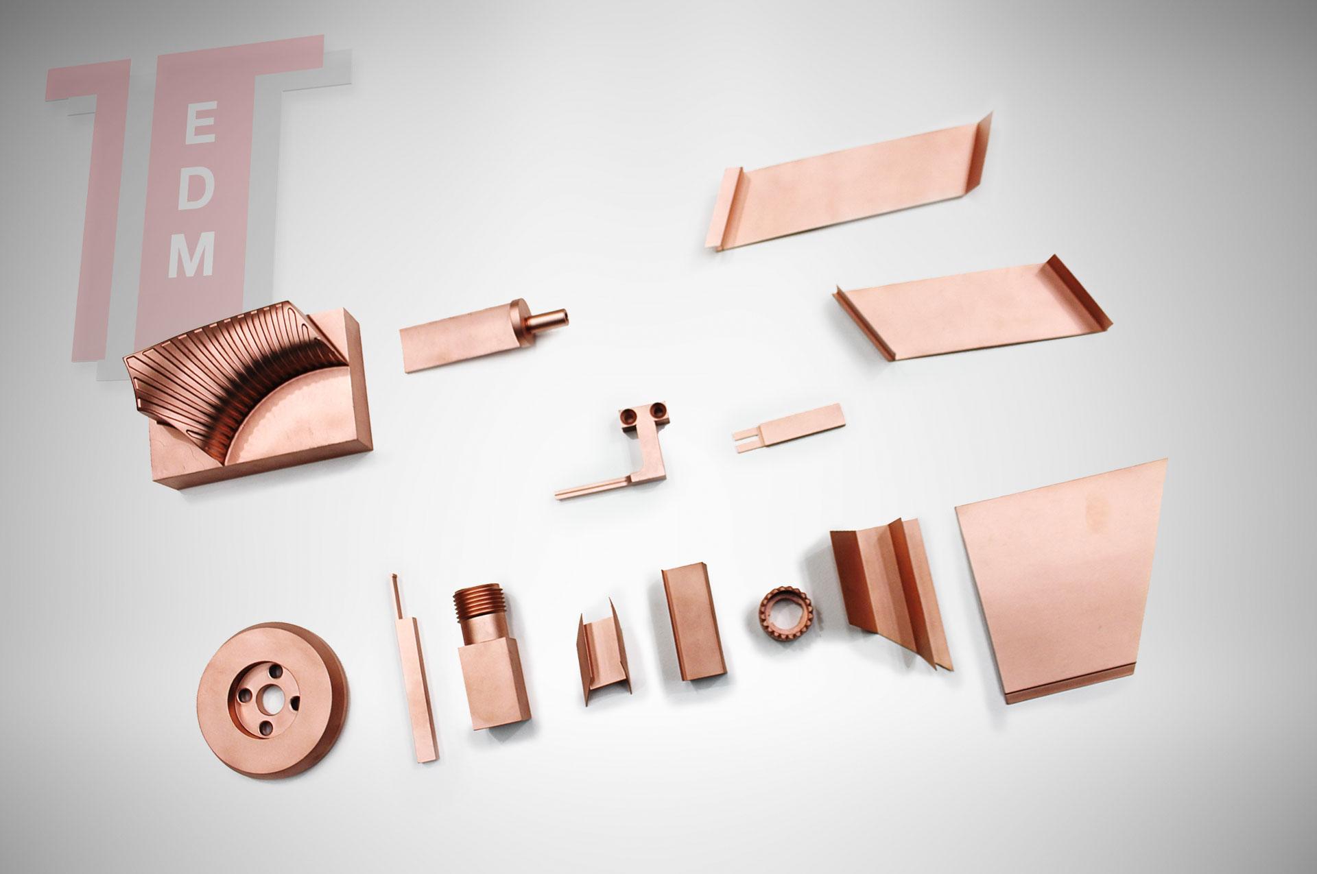 elettrodi rame produzione gamma copper electrodes elettrodi in rame