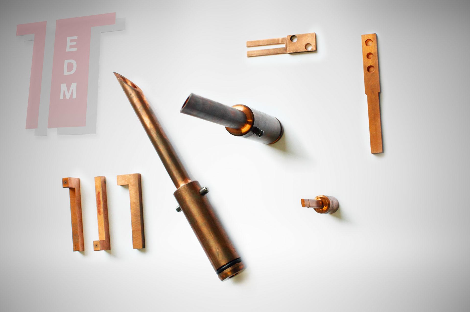 elettrodi rame produzione standard elettrodi in rame Copper electrodes