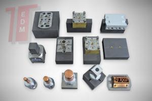 EDM Tooling fissaggi per EDM fissaggi Ftool sistema di fissaggio per macchine a elettroerosione a filo F-Tool