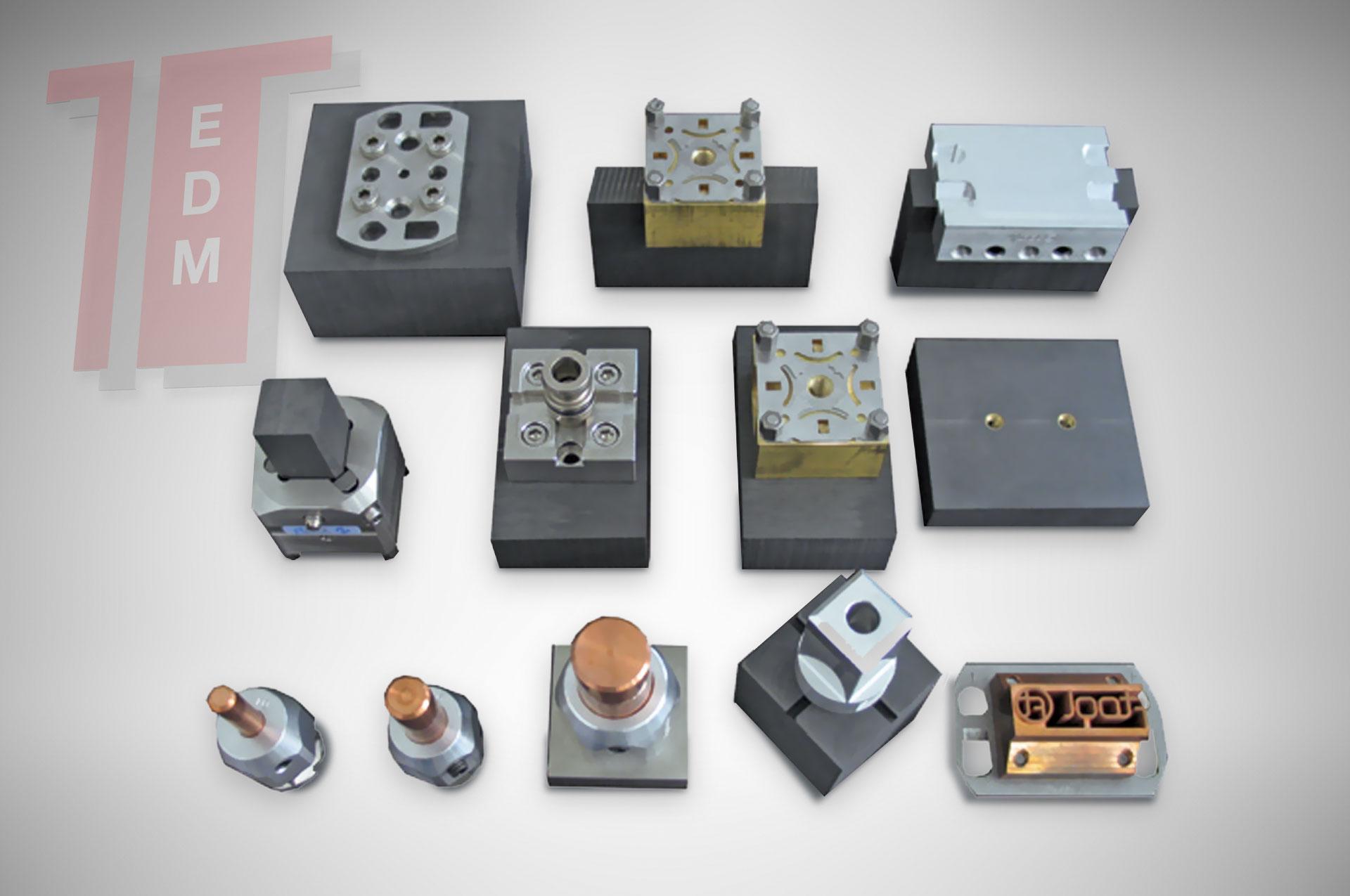 EDM Tooling - Tecno E.D.M. - Graphite and Copper electrodes for EDM
