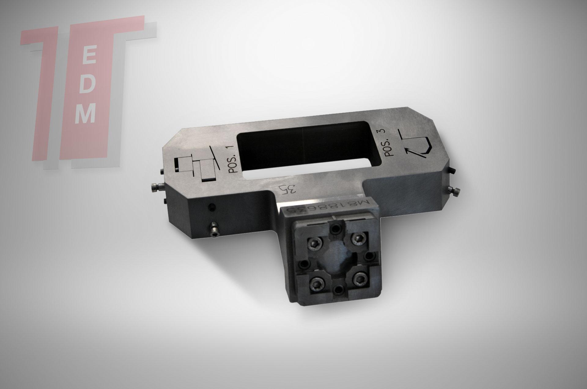 attrezzature per edm porta elettrodo attrezzature