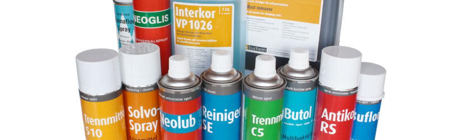 chemical products set prodotti chimici manutenzione macchine