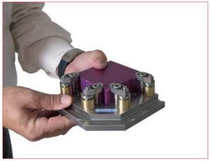 sistema di serraggio per pezzi da lavorare