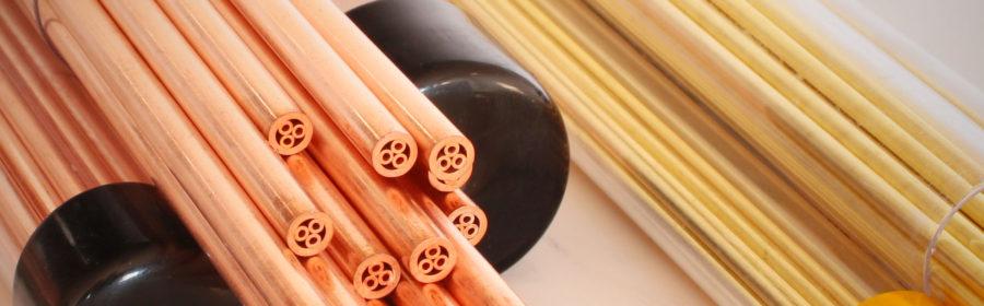 electrode tube copper brass and guide tubetti rame ottone guide ceramiche